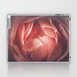 Pastel pink rose flower blossom Laptop & iPad Skin