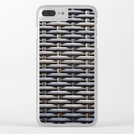 Basketwork Clear iPhone Case