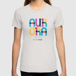 Aurora Colorado Mid Century, Pop Art, Mondrian T-shirt