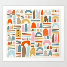mountainsss Art Print