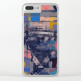 disquiet twenty (chess with holofernes) Clear iPhone Case