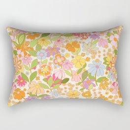 Nostalgia in the garden Rectangular Pillow