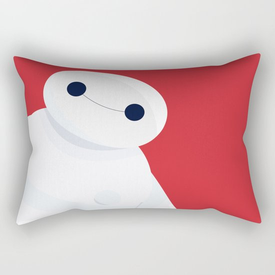 BH6 - Baymax - Big Hero 6 Rectangular Pillow