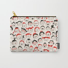 Silly Faces Carry-All Pouch