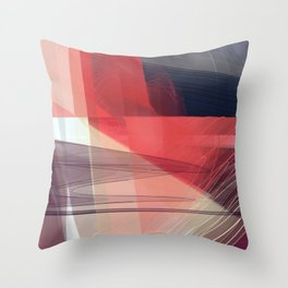 Abstract 391 Throw Pillow