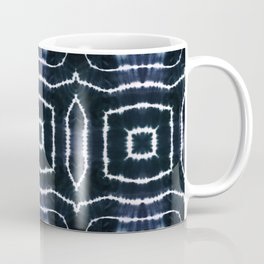SHIBORI - CASTLE OF GLASS - INDIGO Coffee Mug