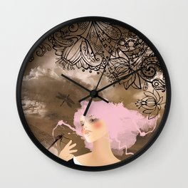 Libellule Wall Clock