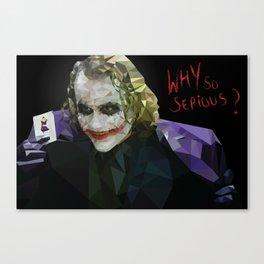 Joker Poly Canvas Print