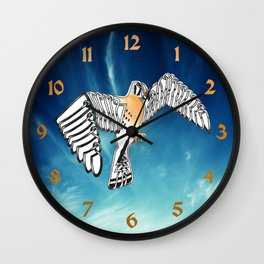 Kestrel Knot Wall Clock