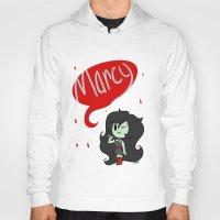 marceline Hoodies featuring Marceline by dartty