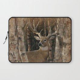 Deer - Birchwood Buck Laptop Sleeve