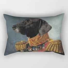 General Pup Rectangular Pillow