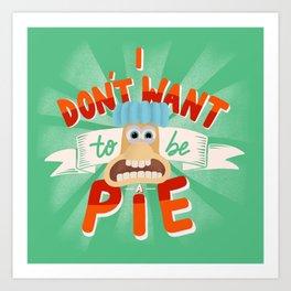 Pie Art Print