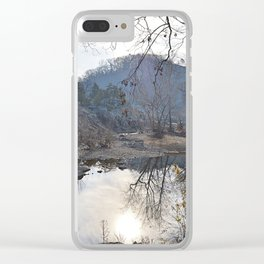Reflecting Pool Clear iPhone Case