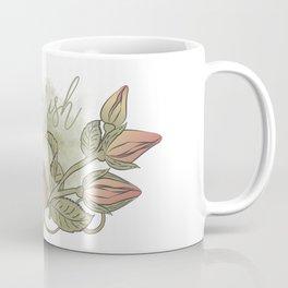english roses, Spring flowers artwork, rosebud artprint, watercolour flowers Coffee Mug