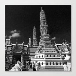 Wat prakaew,Bangkok Thaialnd Canvas Print