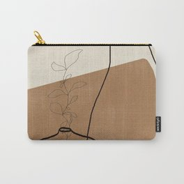Vase Line Minimalistic Study No.3 Carry-All Pouch