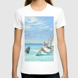 Ground Swell OIl Painting by Edward Hopper T-shirt