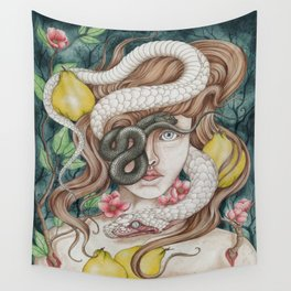 Ophidiophobia Wall Tapestry