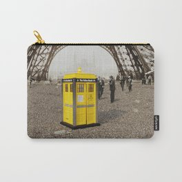The Yellow Booth at Eiffel Tour! Carry-All Pouch