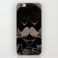 tattoos iPhone & iPod Skins featuring Tattoos  by Ross Sinclair