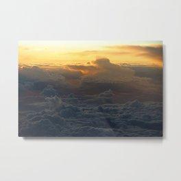 Cloud Mountains • V02 Metal Print
