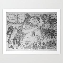 Hibernia Art Print