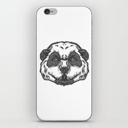 Brooding Panda iPhone Skin