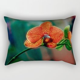 The mystery of orchid 10 Rectangular Pillow