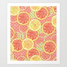 Fresh & Fruity Art Print