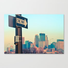One Love // Minneapolis Canvas Print