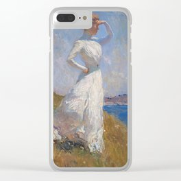Frank Weston Benson - Sunlight Clear iPhone Case