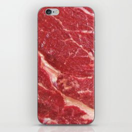 Raw Steak iPhone Skin