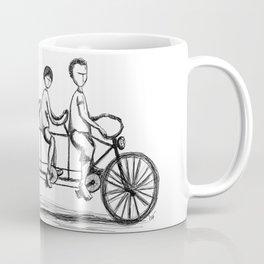 Family Bike Coffee Mug