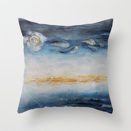 The Earth Looks Better From a Star Throw Pillow