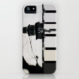 Marking The Artwork iPhone Case