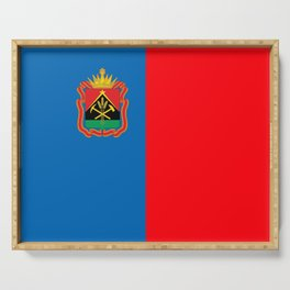 flag of Kemerovo Serving Tray
