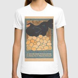 Vintage poster - I am a Fine War Hen T-shirt