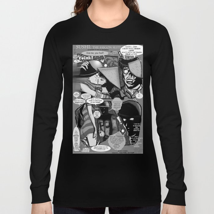 Bird of Steel Comix – #8 of 8  - (Society 6 POP-ART COLLECTION SERIES) Long Sleeve T-shirt