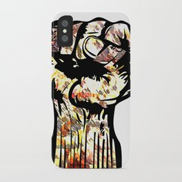 Resist with Art  by Eric Stamps  iPhone Case