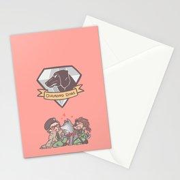 Diamond dogs Stationery Cards