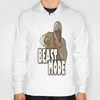depeche mode Hoodies featuring BEAST MODE  by Robleedesigns
