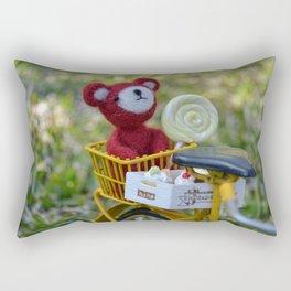 Toys - A cool sunset Rectangular Pillow