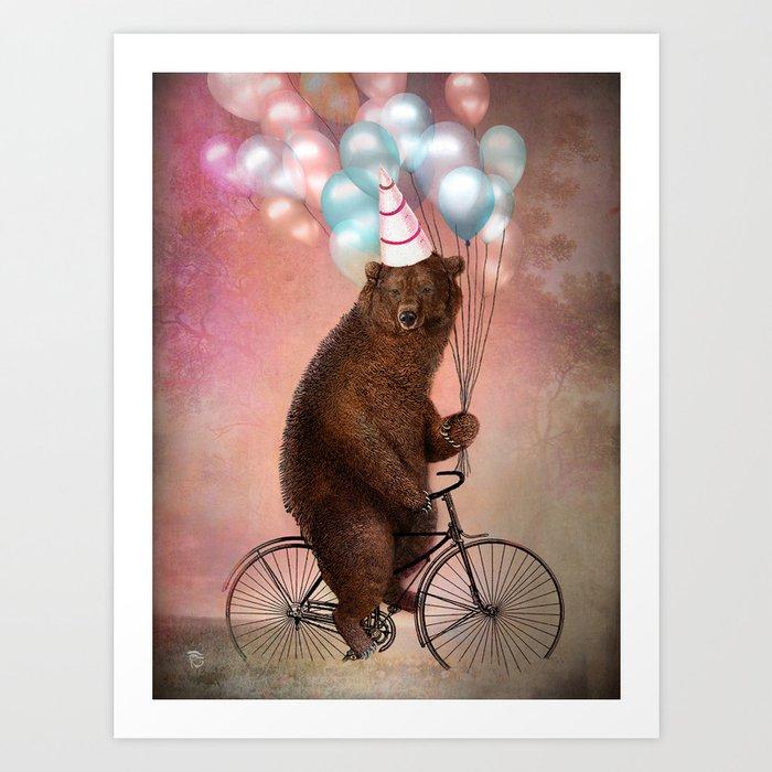 Entdecke jetzt das Motiv BIRTHDAY BEAR von Christian Schloe als Poster bei TOPPOSTER
