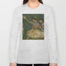 "Edgar Degas ""Dancers with tambourine"" Long Sleeve T-shirt"