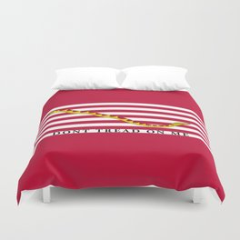 First Navy Jack of the United States of America flag Duvet Cover