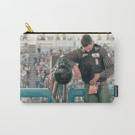 Cowboy Prayer At The Rodeo Carry-All Pouch