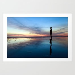 Another Place, Crosby Beach Art Print