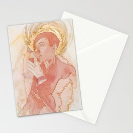 Self-portrait as Saint Pompette No. 2 Stationery Cards