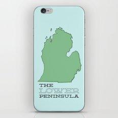 The Lower Peninsula iPhone & iPod Skin